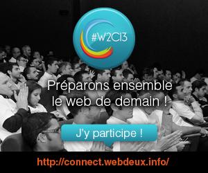 #W2C13 j'y participe